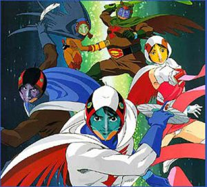 Gatchaman, la battaglia dei pianeti: download sigla / suoneria mp3