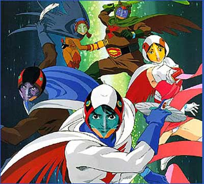 Gatchaman la battaglia dei pianeti download sigla suoneria mp