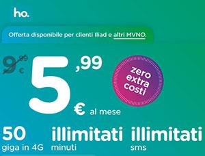 Ho mobile: offerta